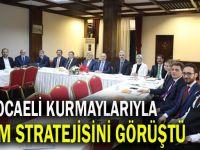 AK Partili kurmaylar seçim stratejisini görüştü