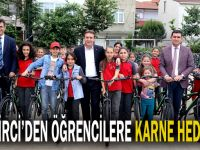 Bisikletler Başkan Demirci'den