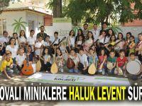 Çayırovalı 'Minik Notalar'a Haluk Levent sürprizi