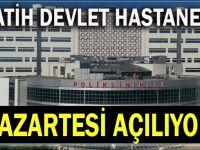 Gebze Fatih Devlet Hastanesi açılıyor!