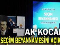 İşte AK Parti Kocaeli'nin seçim beyannaamesi