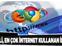 Kocaeli, en çok internet kullanan il oldu!