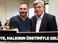 'Türkiye, halkının üretimiyle gelişecek'