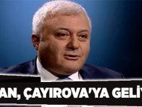 Özkan, Çayırova'ya geliyor