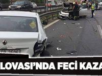 Dilovası'nda feci kaza