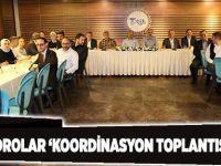 AK kadrolar 'Koordinasyon Toplantısı' yaptı