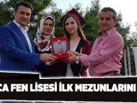 Darıca Fen lisesi ilk mezunlarını verdi