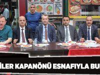MHP'liler Kapanönü esnafıyla buluştu
