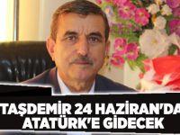 Taşdemir 24 Haziran'da Atatürk'e Gidecek