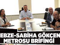 Gebze-Sabiha Gökçen Metrosu Brifingi