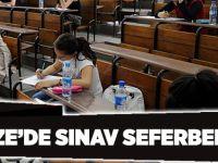 Gebze'de sınav seferberliği