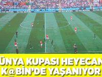 Dünya Kupası heyecanı K@bin'de yaşanıyor