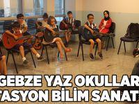 Gebze Yaz Okulları İstasyon Bilim Sanat'ta