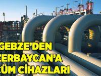 Gebze'den Azerbaycan'a Ölçüm Cihazları