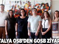 Antalya OSB'den GOSB ziyareti