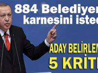 Erdoğan, belediyelerin karnesini istedi...