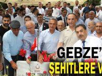 Başkan Köşker'den Şehitlik Ziyareti