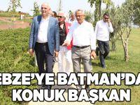 Gebze'ye Batman'dan Konuk Başkan