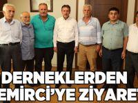 Derneklerden Demirci'ye Ziyaret