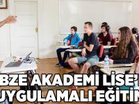 Gebze Akademi Lise'de Uygulamalı Eğitim