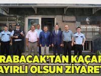 Karabacak'tan hayırlı olsun ziyareti