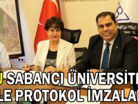 GTÜ Sabancı Üniversitesi İle Protokol İmzaladı