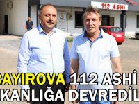 Çayırova 112 ASHİ Bakanlığa Devredildi