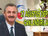 17 Ağustos depremi canlandırılacak