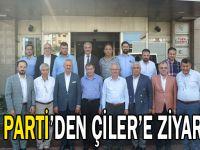 AK Parti'den Çiler'e ziyaret