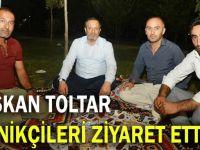 Başkan Toltar, piknikçilerle buluştu