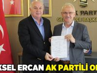 Yüksel Ercan AK Partili oldu
