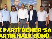 AK Parti'de her 'Salı' artık halk günü