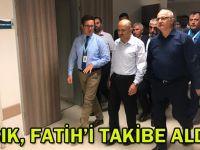 Işık, Fatih'i takibe aldı