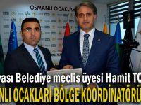 Osmanlı Ocakları Bölge Koordinatörü oldu