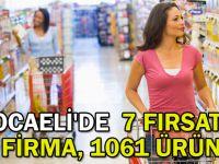 Kocaeli'de 7 fırsatçı firma, 1061 ürün