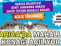 Darıca'da mahalle konağı açılıyor