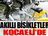 AKILLI BİSİKLETLER İZMİT'TE