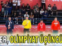 Ömer, olimpiyat üçüncüsü