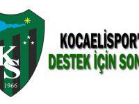 Kocaelispor'a destek için son ay
