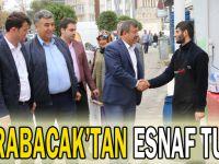 Karabacak'tan esnaf turu
