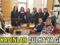 AK Kadınlar Çulha'ya gitti