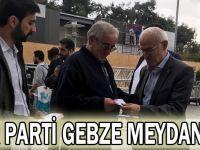 AK Parti Gebze meydanda