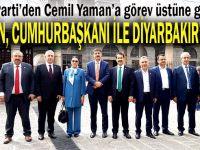 Yaman, Cumhurbaşkanı ile Diyarbakır'daydı