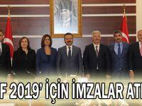 KOİF 2019' için imzalar atıldı