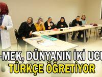 KO-MEK, dünyanın iki ucuna Türkçe öğretiyor