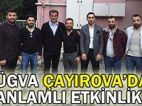TÜGVA Çayırova'dan anlamlı etkinlik