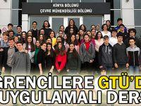Öğrencilere GTÜ'de uygulamalı eğitim
