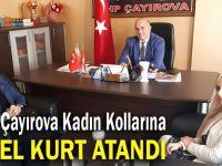 MHP Çayırova kadın kollarına Kurt atandı