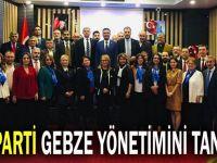 Gebze İYİ parti yönetimi tanıtıldı!