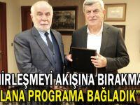 """Karaosmanoğlu, """"Şehirleşmeyi akışına bırakmadık, plana programa bağladık"""""""